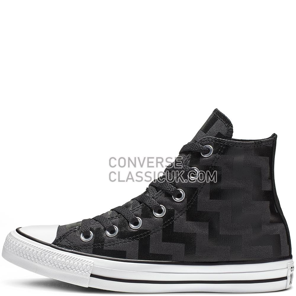 Converse Chuck Taylor All Star Glam Dunk High Top Womens 565212C Black/Almost/Black/White Shoes