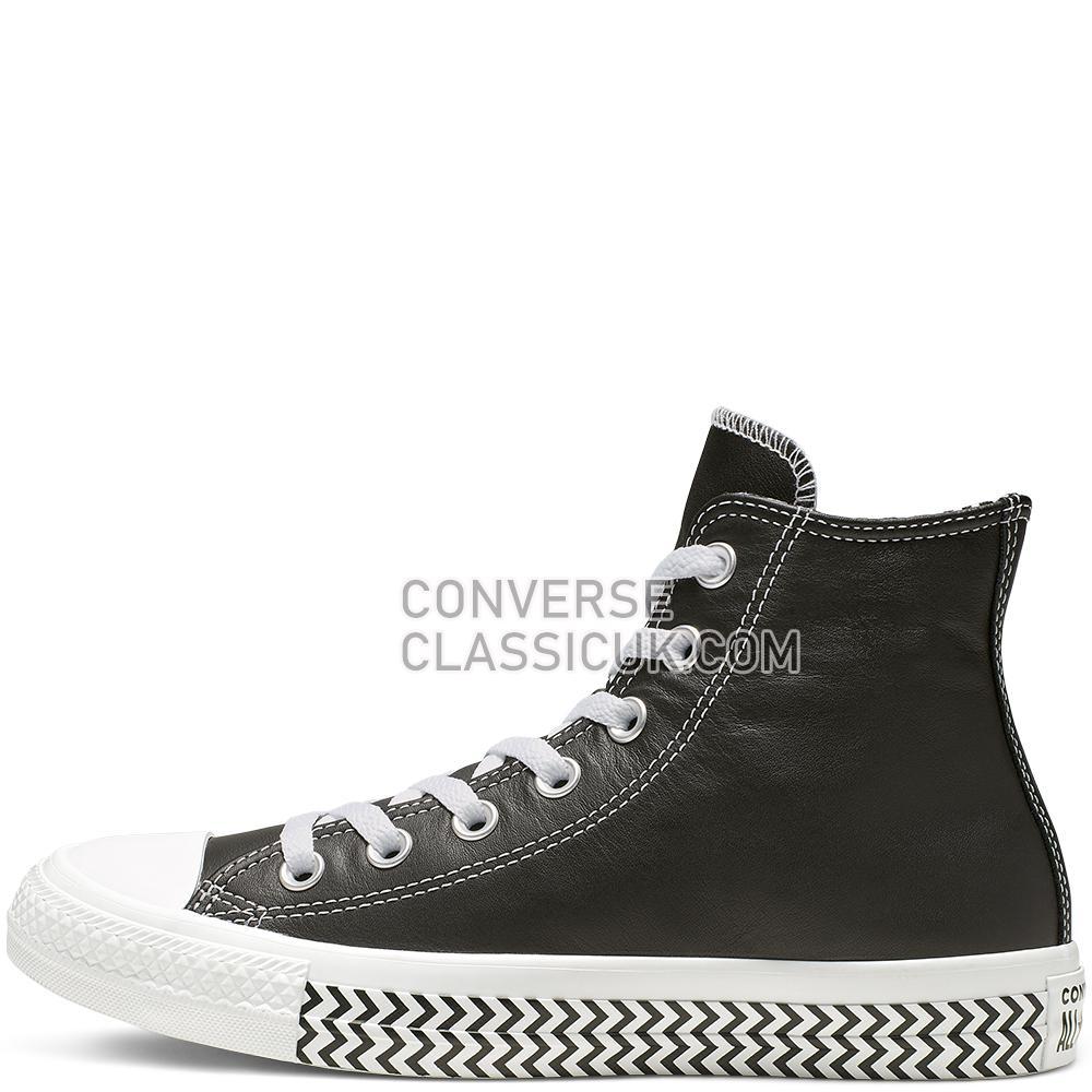 Converse Chuck Taylor All Star VLTG High Top Womens 564943C Black/White/White Shoes