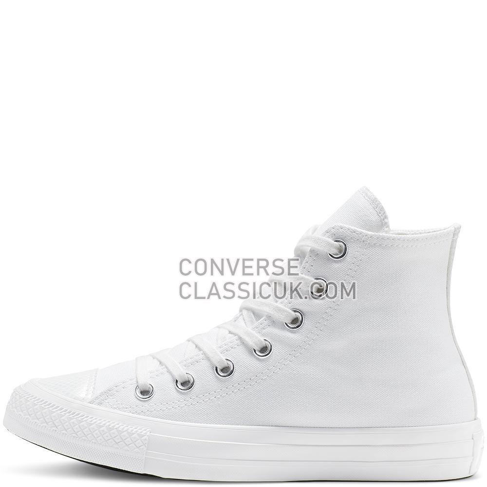 Converse Chuck Taylor All Star Stargazer High Top Womens 565199C White/White/White Shoes
