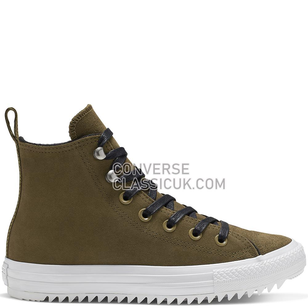 Converse Chuck Taylor All Star Hiker High Top Womens 565238C Surplus/Olive/White/Black Shoes