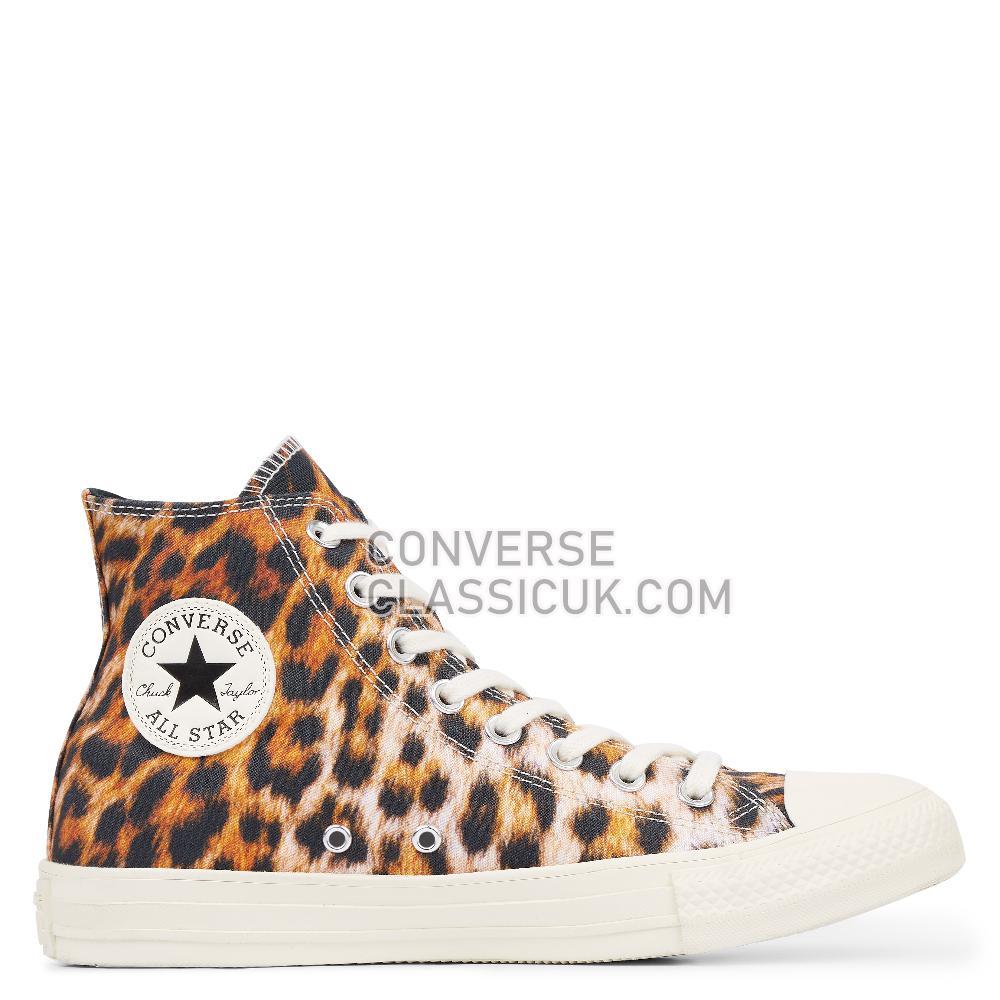 Converse Chuck Taylor All Star Wild Print High-Top Mens Womens Unisex 164671C Black/Egret/Egret Shoes