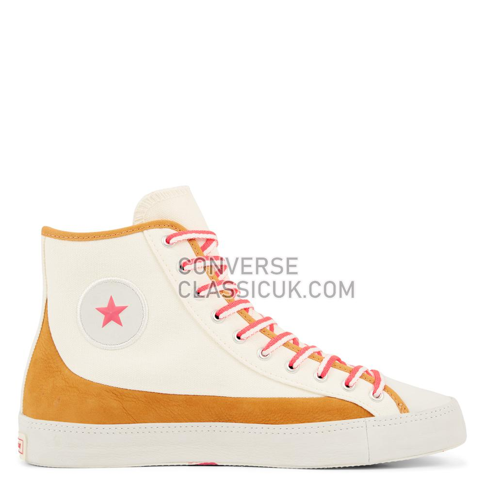 Converse Chuck Taylor All Star Sasha High-Top Womens 564312C Egret/Amber/Ochre/Racer/Pink Shoes