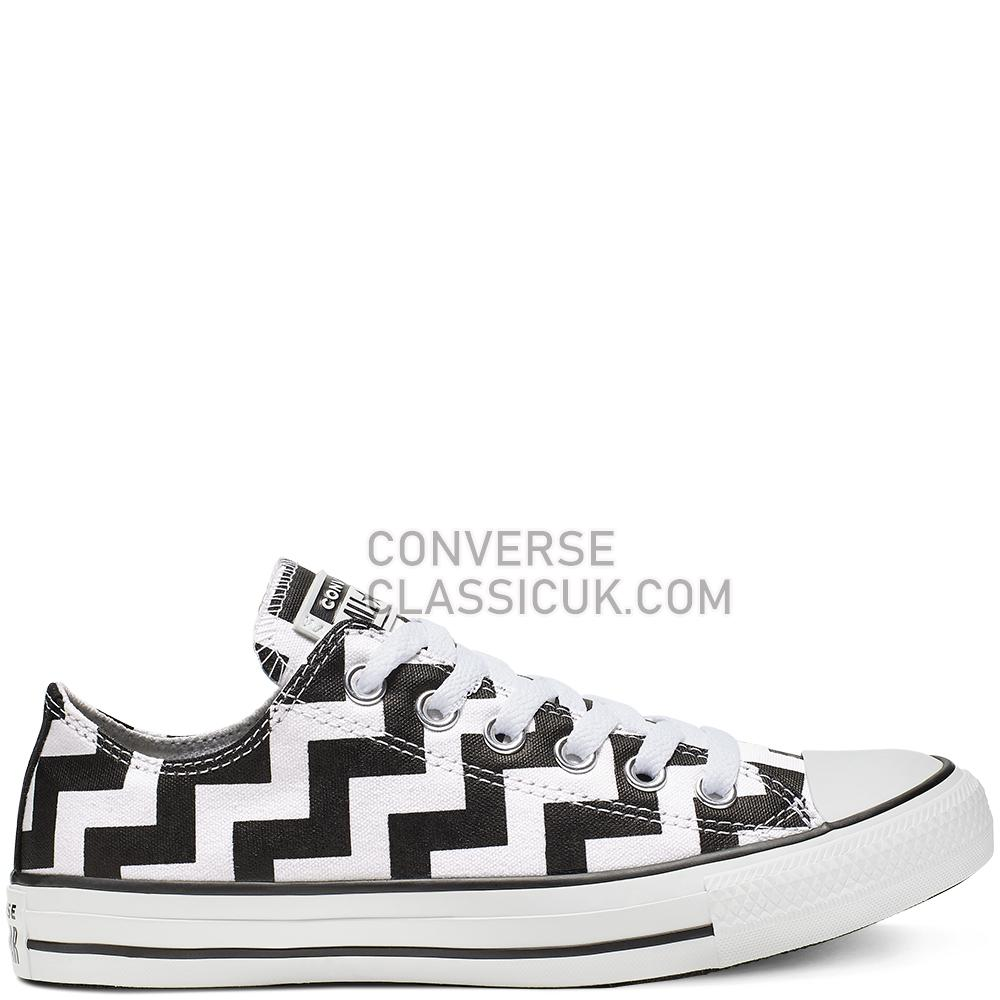 Converse Chuck Taylor All Star Glam Dunk Low Top Womens 565438C White/Black/White Shoes