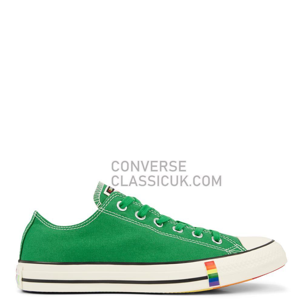 Converse CTAS OX GREEN/EGRET/BLACK Mens Womens Unisex 165614C Green/Egret/Black Shoes