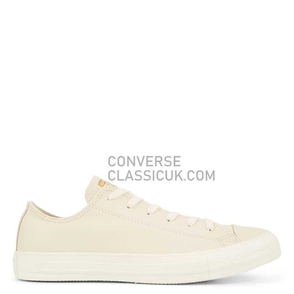 Converse Chuck Taylor All Star Minimalism Leather Low-Top Mens Womens Unisex 165619C Natural/Ivory/Natural/Ivory Shoes