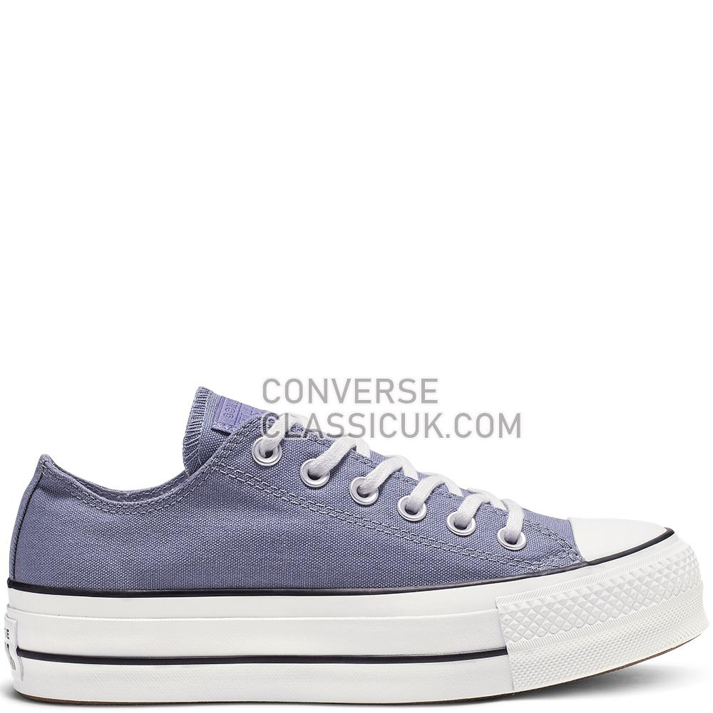 Converse CTAS Lift Ox Stellar Indigo Seasonal Womens 564997C Stellar/Indigo/White/Black Shoes