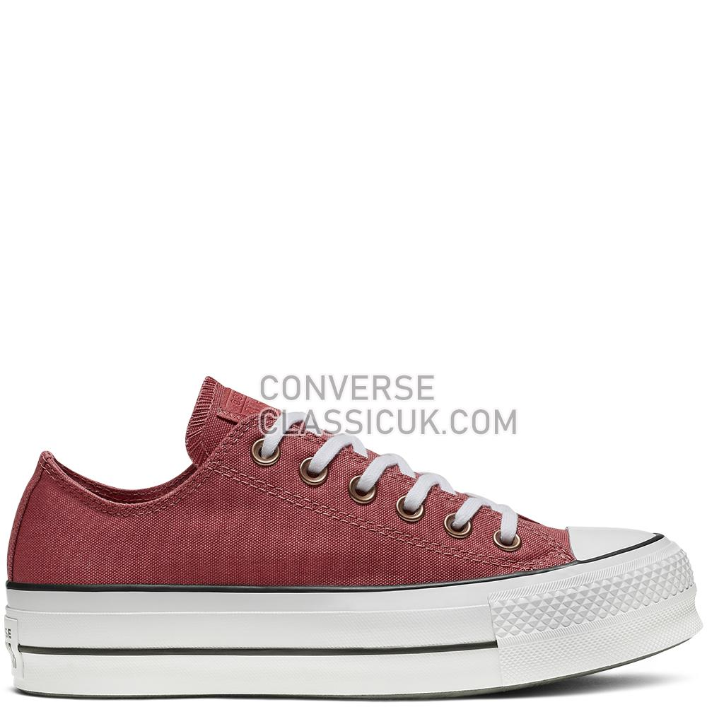 Converse CTAS Lift Ox Light Redwood Seasonal Womens 564996C Light/Redwood/White/Black Shoes