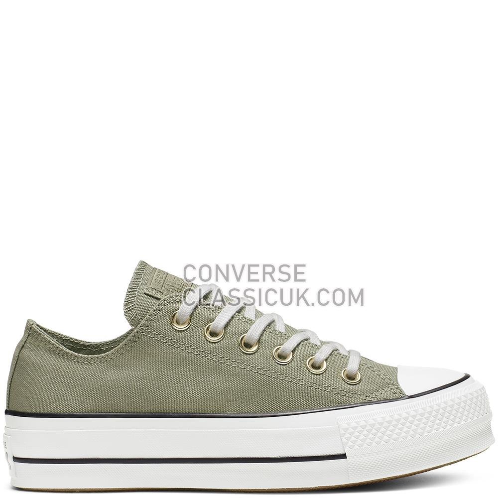 Converse CTAS Lift Ox Jade Stone Seasonal Womens 564998C Jade/Stone/White/Black Shoes