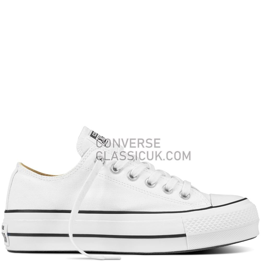 Converse - Chuck Taylor All Star Lift - White/Black/White Womens 560251C White/Black/White Shoes