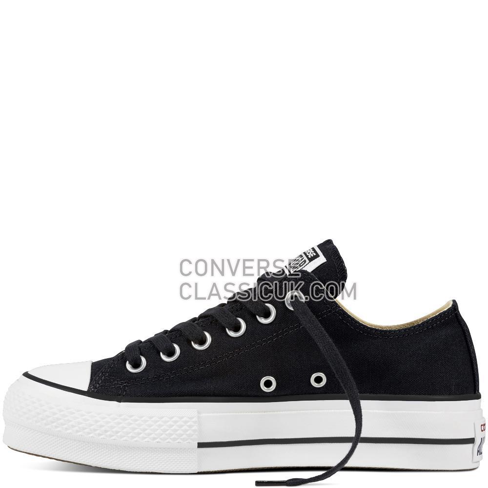 Converse - Chuck Taylor All Star Lift - Black/White/White Womens 560250C Black/White/White Shoes