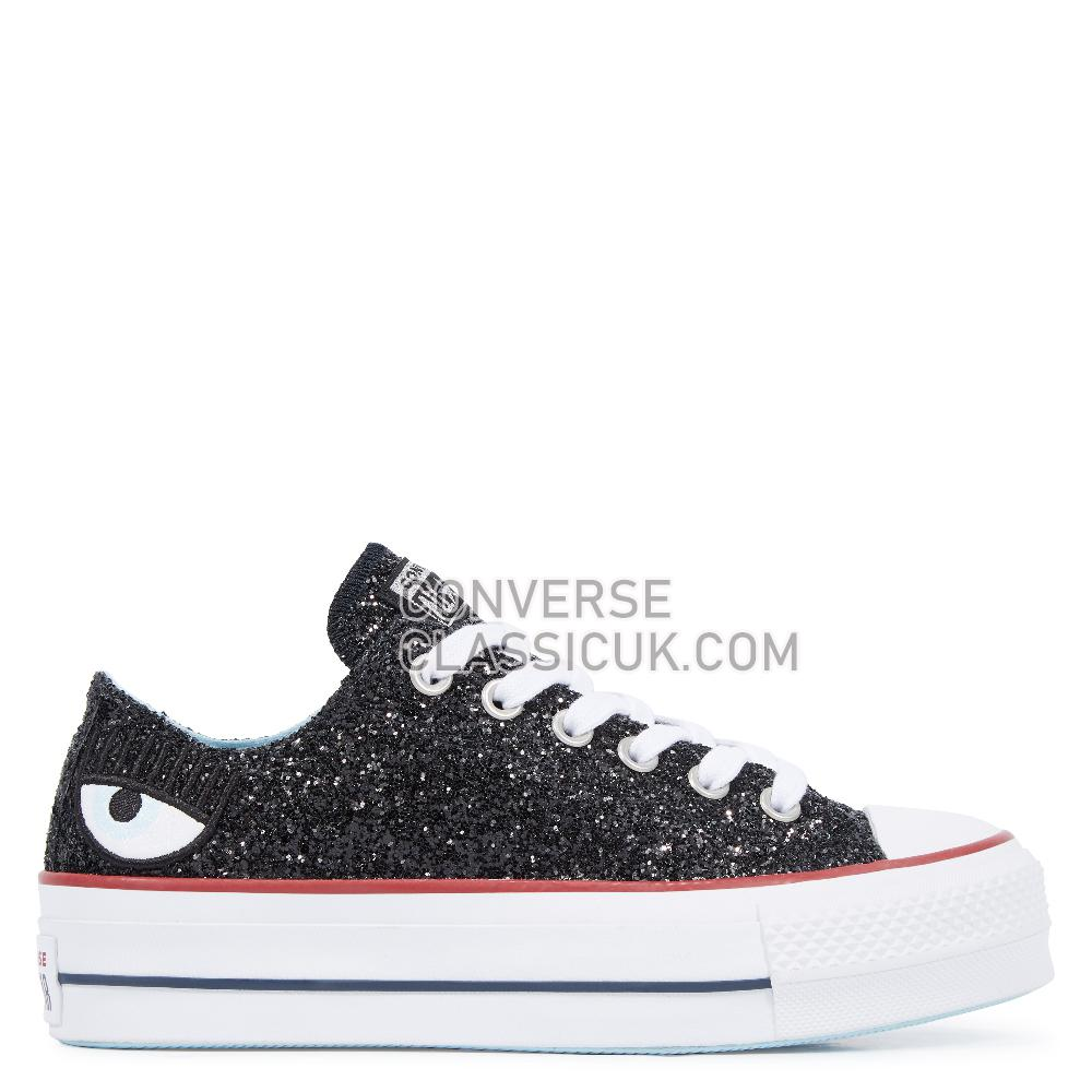 Converse - Chuck Taylor - Black/White/Black Womens 563834C Black/White/Black Shoes