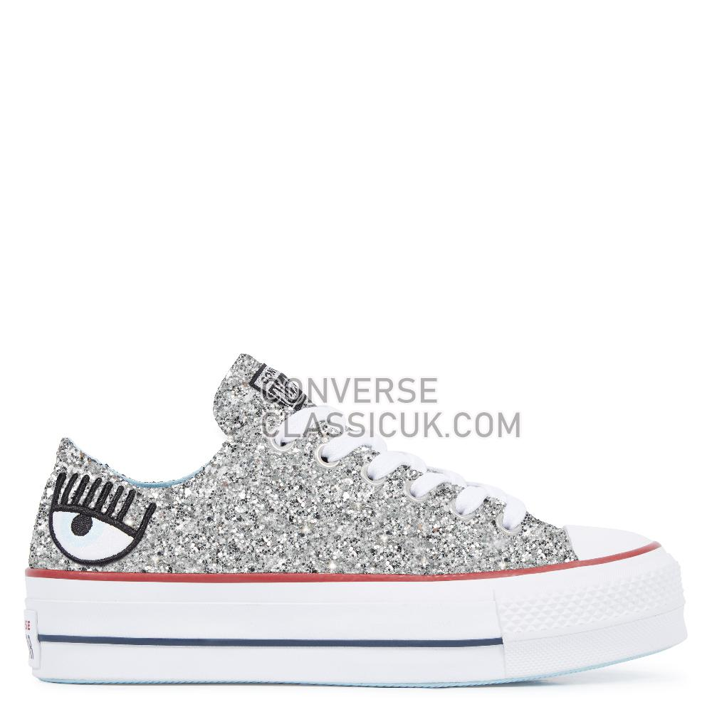 Converse - Chuck Taylor - Silver/Clearwater/White Womens 563833C Silver/Clearwater/White Shoes
