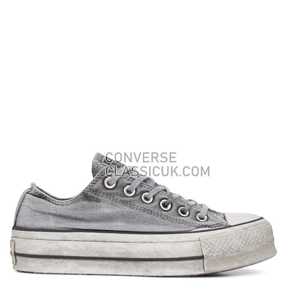 Converse - Chuck Taylor - Gray/Gray/White Womens 563112C Gray/Gray/White Shoes