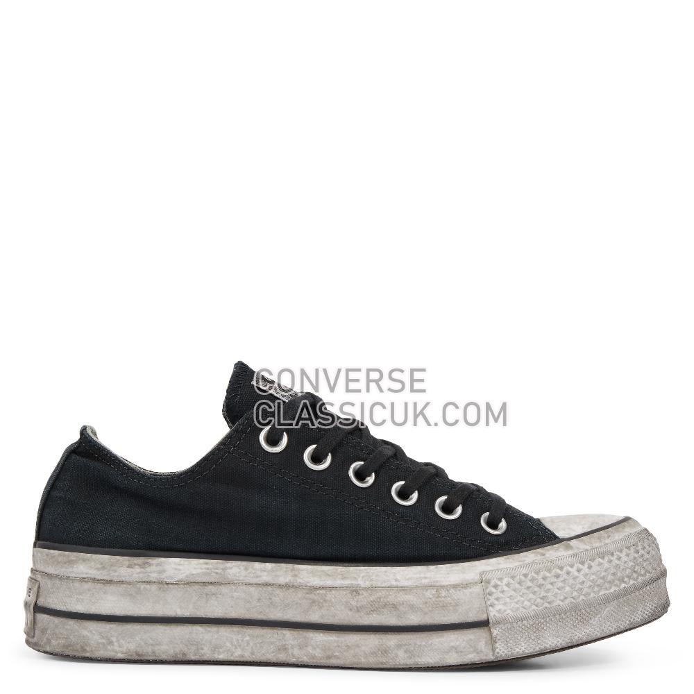 Converse - Chuck Taylor - Black Smoke In/Black Womens 564528C Black/Smoke/In/Black Shoes