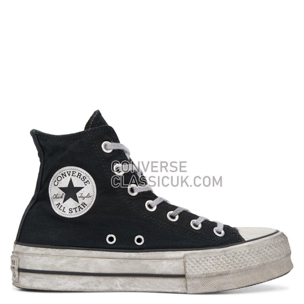 Converse - Chuck Taylor - Black Smoke In/Black Womens 564527C Black/Smoke/In/Black Shoes