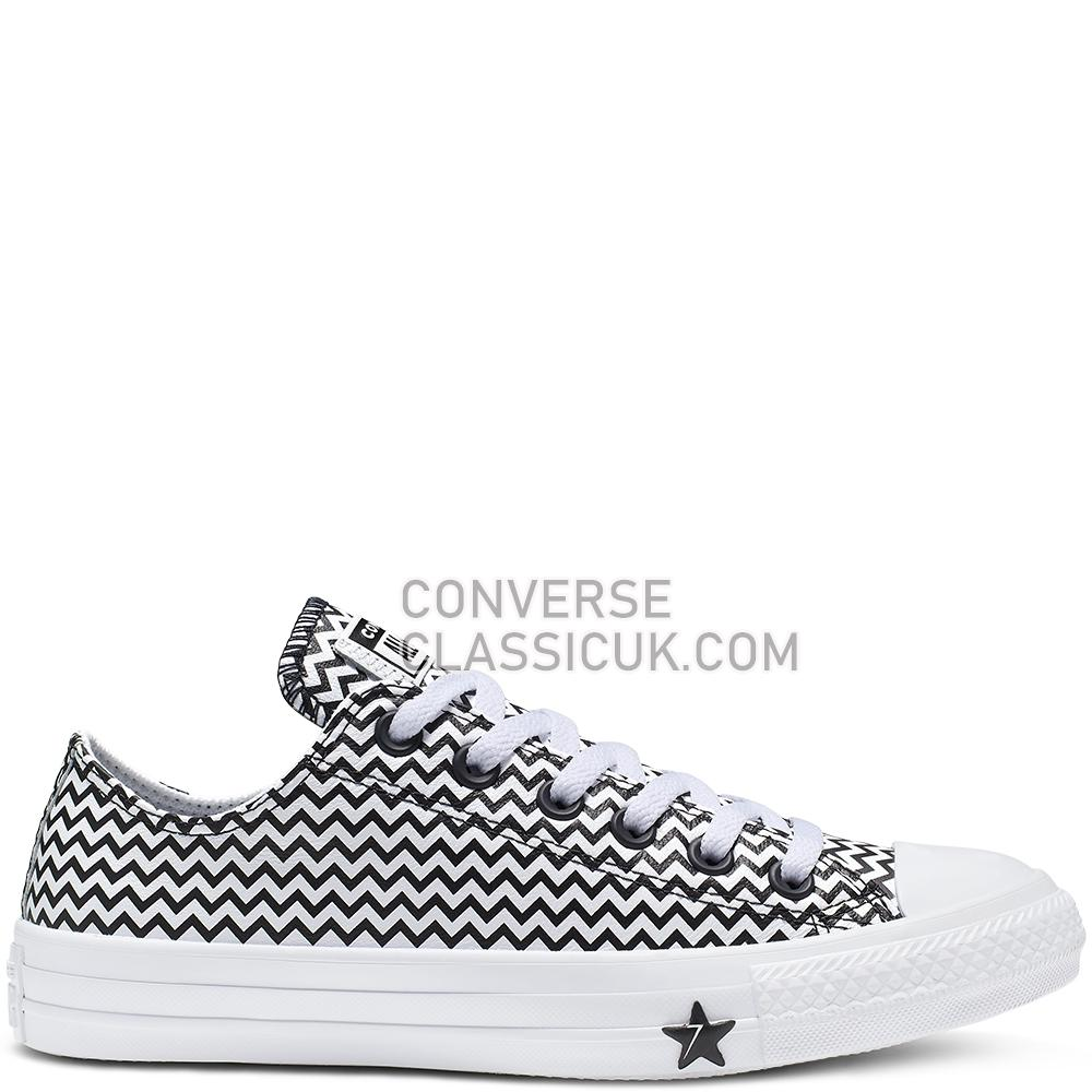 Converse Chuck Taylor All Star Mission-V Low Top Womens 565367C White//Converse/Black/White Shoes
