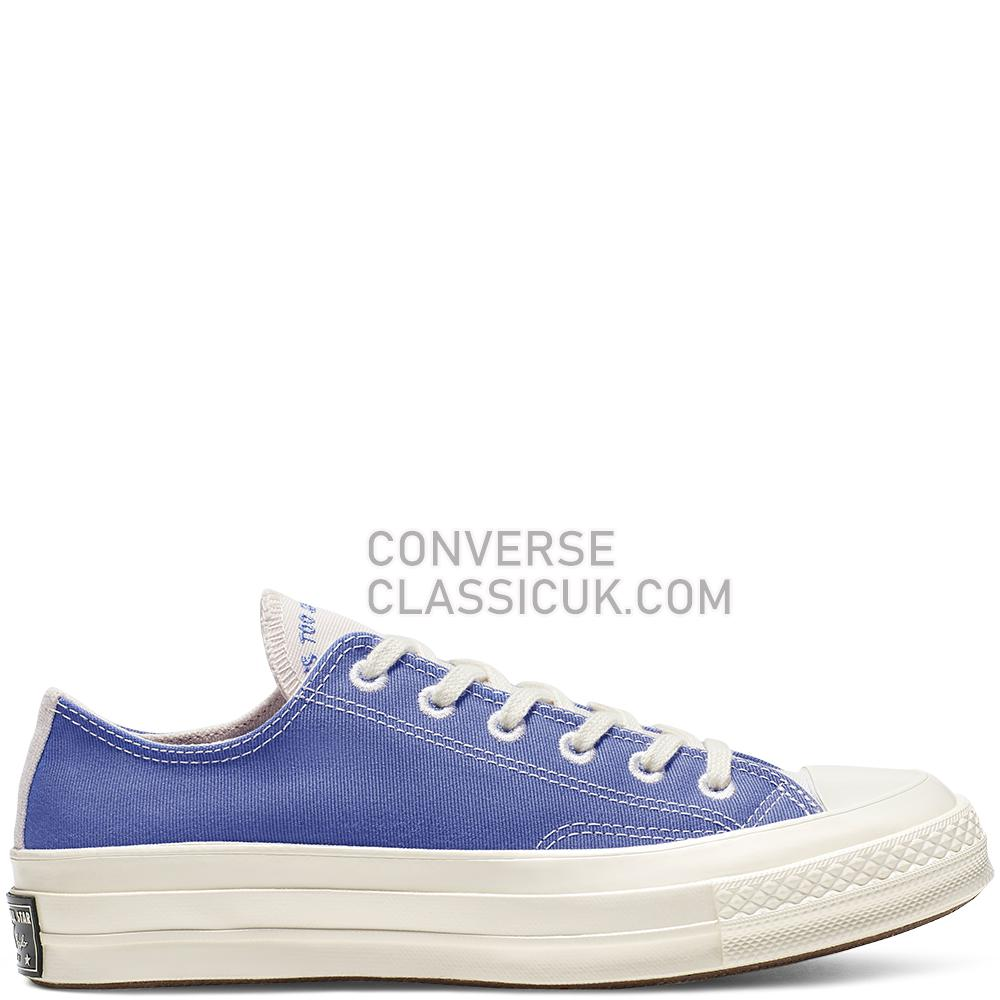 Converse Chuck 70 Renew Low Top Mens Womens Unisex 165422C Ozone/Blue/Natural/Black Shoes