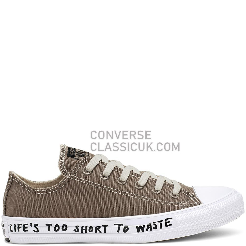 Converse Chuck Taylor All Star Renew Low Top Mens Womens Unisex 164921C Mason/Taupe/Black/White Shoes