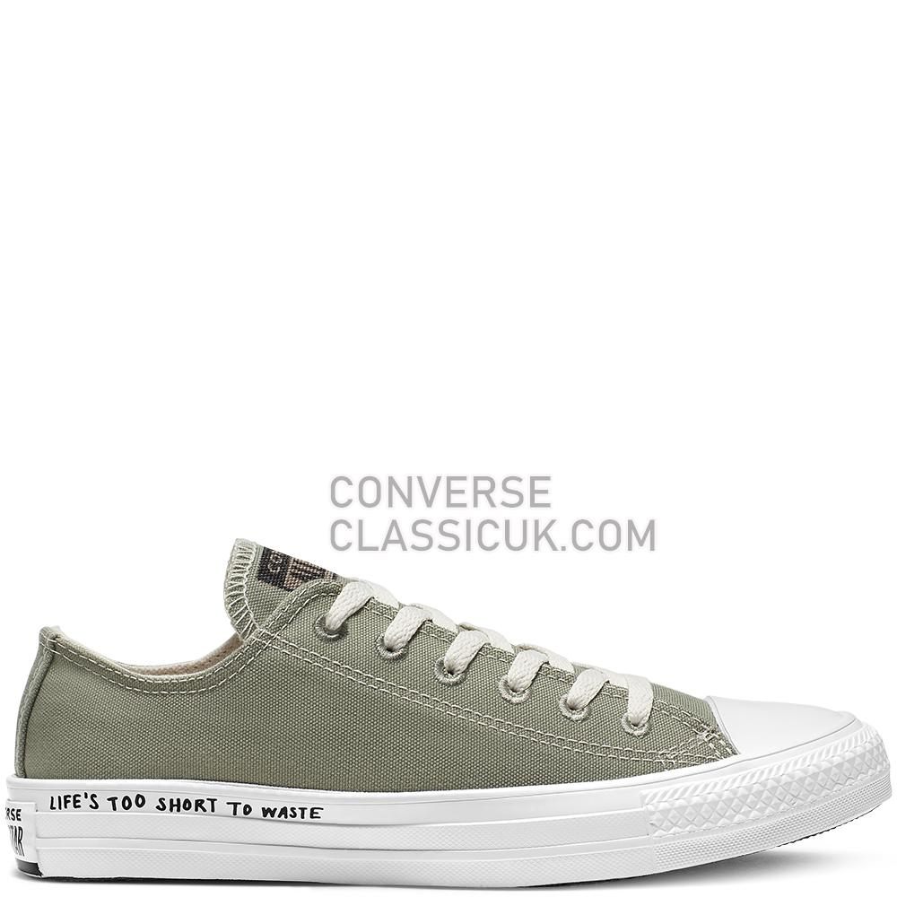 Converse Chuck Taylor All Star Renew Low Top Womens 164922C Jade/Stone/Black/White Shoes