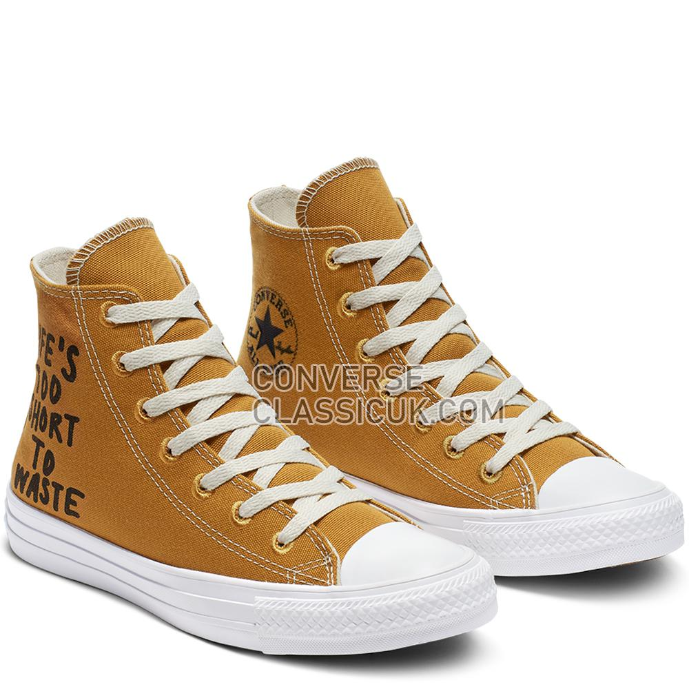 Converse Chuck Taylor All Star Renew High Top Womens 164918C Wheat/Black/White Shoes