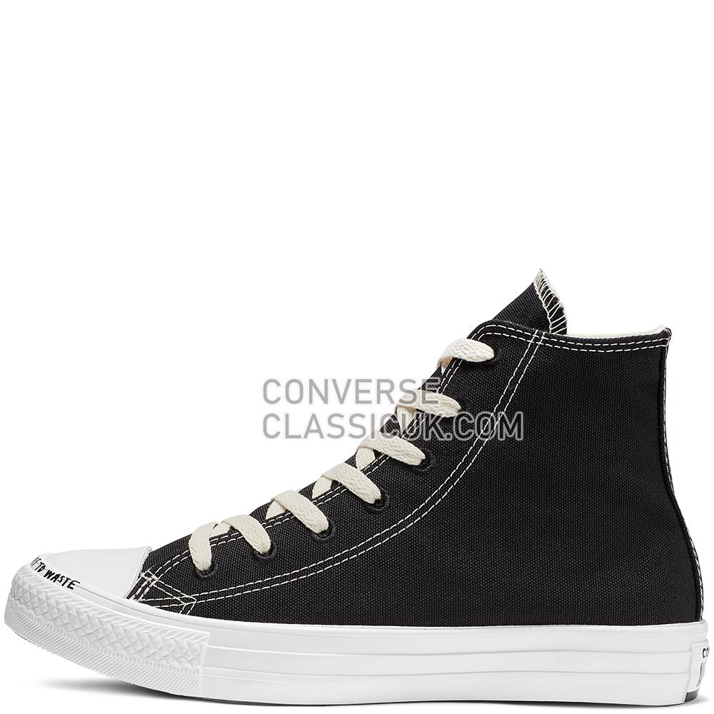 Converse Chuck Taylor All Star Renew High Top Mens Womens Unisex 164919C Black/Black/White Shoes