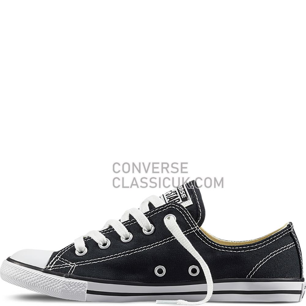Converse Chuck Taylor All Star Dainty Black Womens 530054C Black Shoes