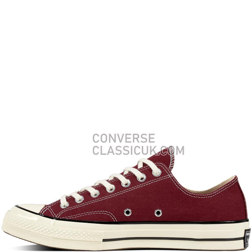 Converse Chuck 70 Dark Burgundy Mens Womens Unisex 162059C Dark/Burgundy/Black/Egret Shoes