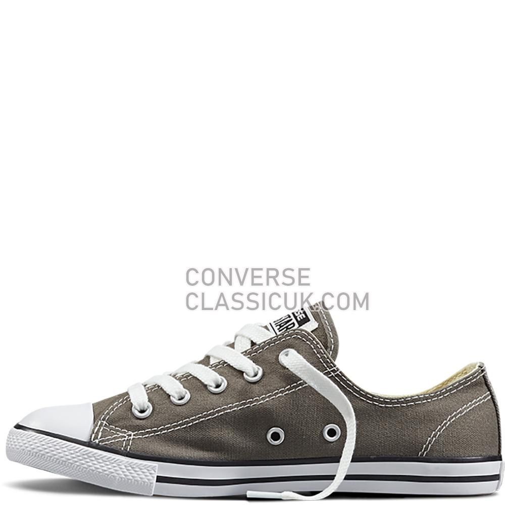 Converse - Chuck Taylor All Star Dainty - Charcoal Womens 532353C Charcoal Shoes