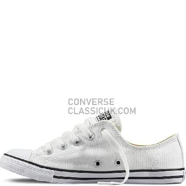 Converse Chuck Taylor All Star Dainty White Womens 530057C White Shoes