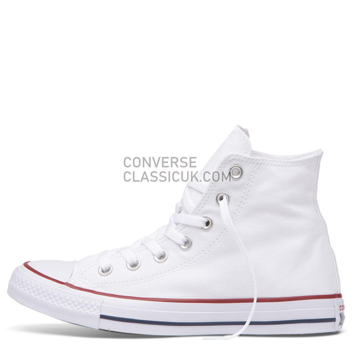 Converse Chuck Taylor All Star Classic Colour High Top White Mens Womens Unisex 17650 White Shoes