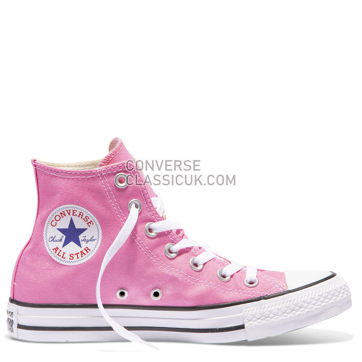 Converse Chuck Taylor All Star Colour High Top Pink Mens Womens Unisex 19006 Pink Shoes