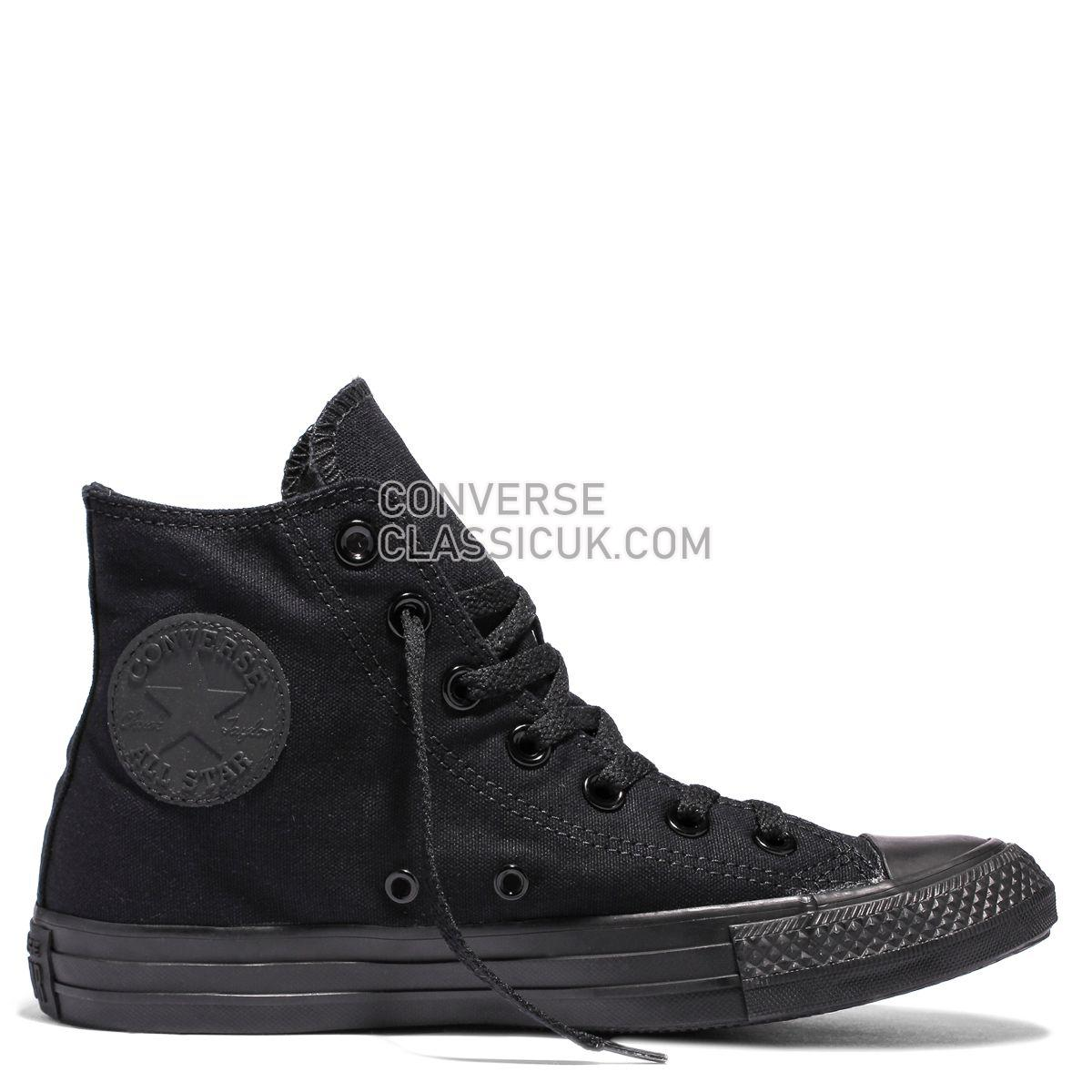 Converse Chuck Taylor All Star Classic Colour High Top Black Mens Womens Unisex 13310 Black Shoes