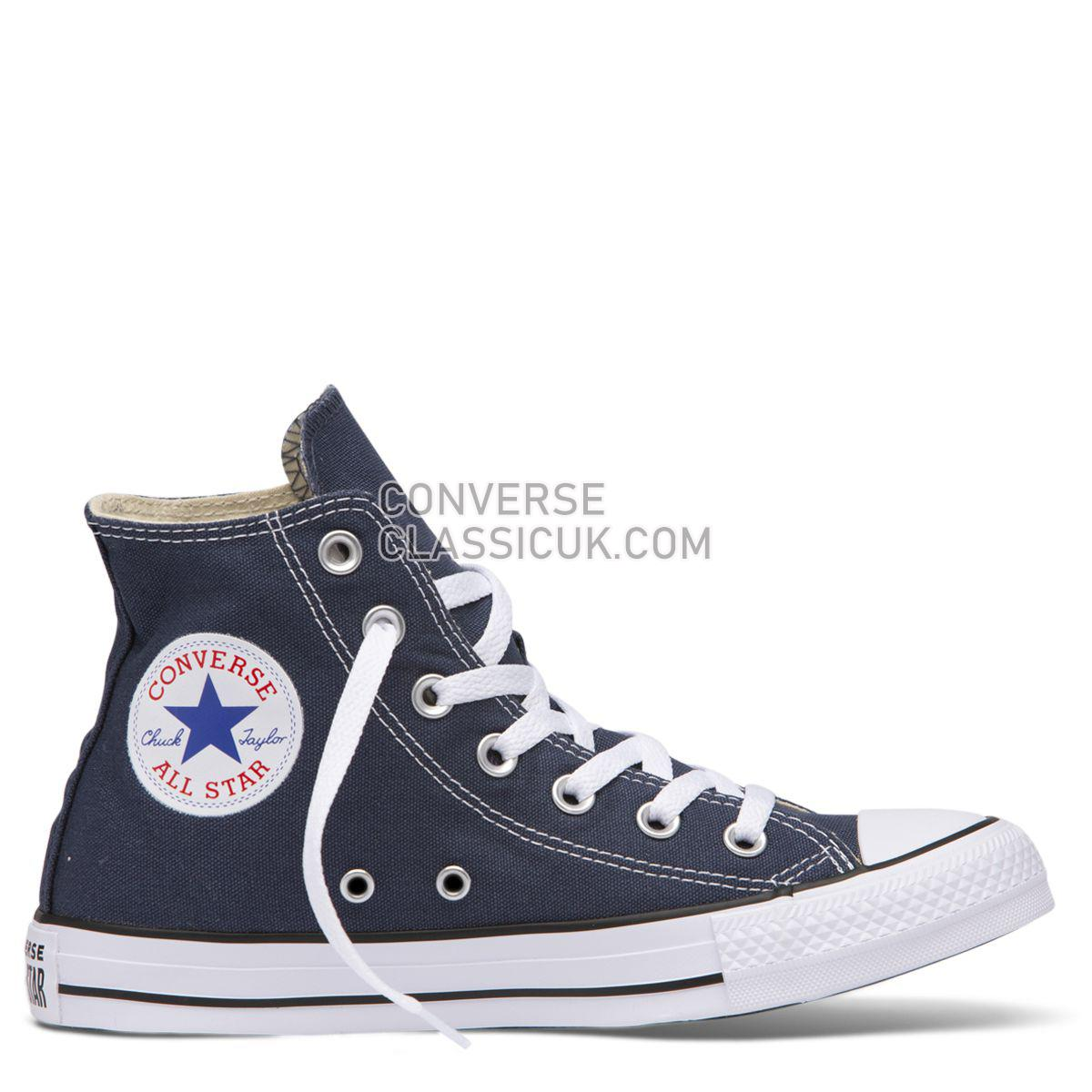Converse Chuck Taylor All Star Classic Colour High Top Navy Mens Womens Unisex 19622 Navy Shoes