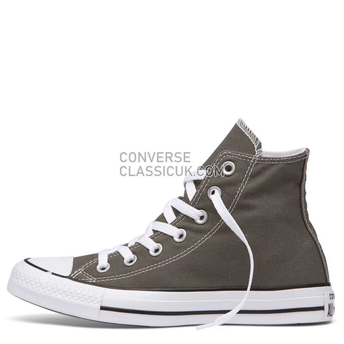 Converse Chuck Taylor All Star Classic Colour High Top Charcoal Mens Womens Unisex 1J793 Charcoal Shoes