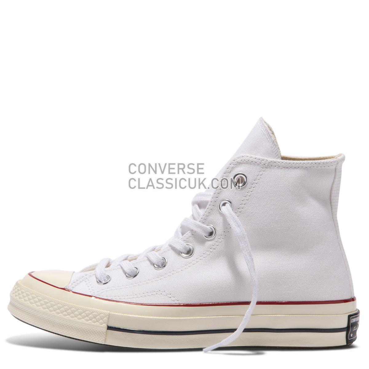 Converse Chuck Taylor All Star 70 High Top White Mens Womens Unisex 162056 White/Garnet/Egret Shoes