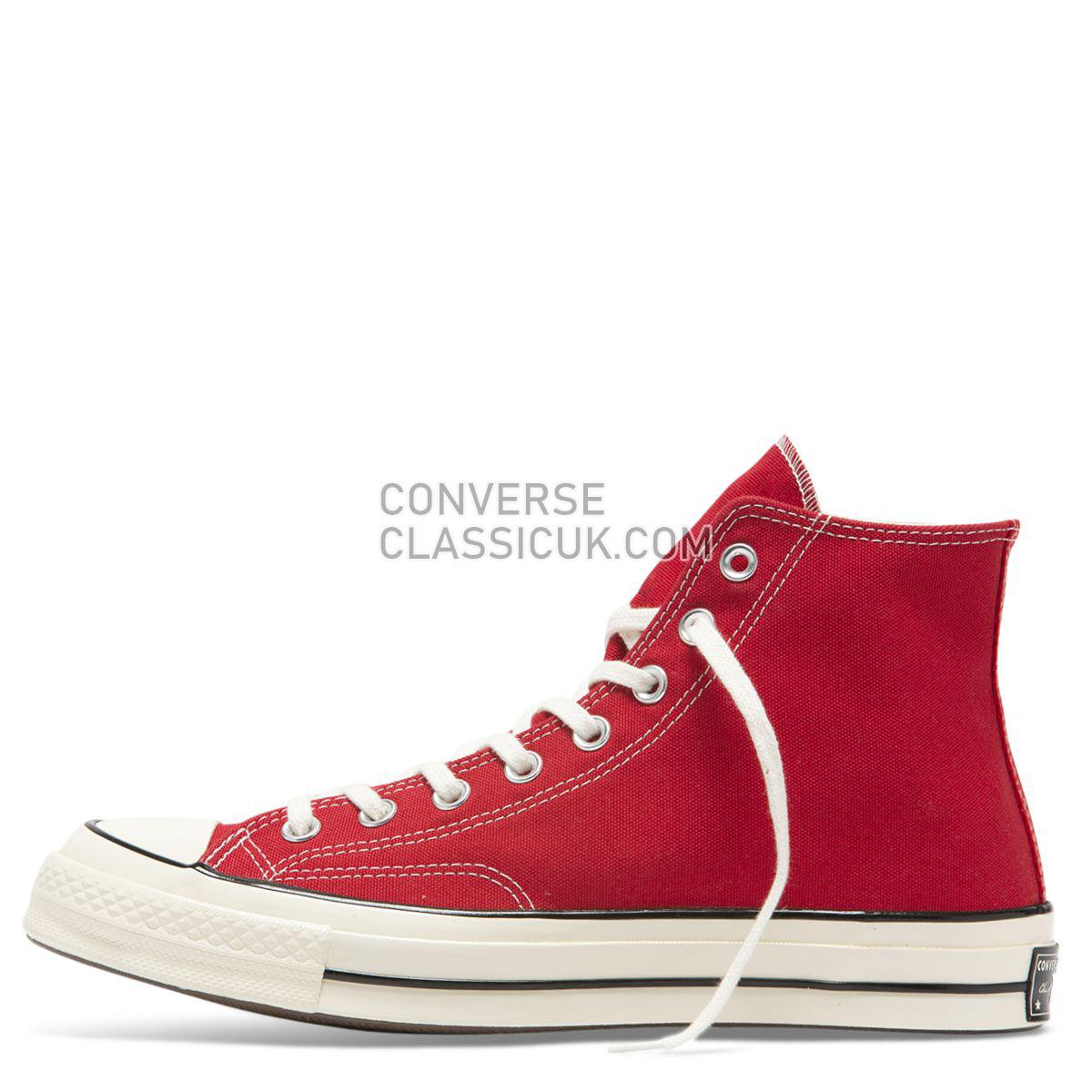 Converse Chuck Taylor All Star 70 Always On High Top Enamel Red Mens Womens Unisex 164944 Enamel Red/Egret/Black Shoes
