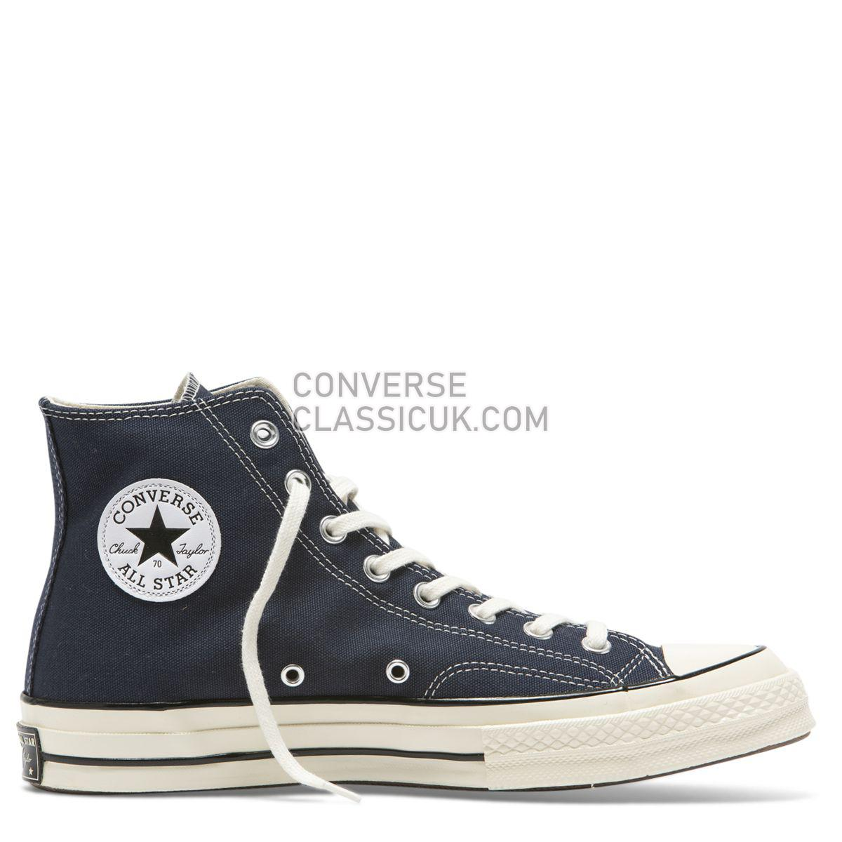 Converse Chuck Taylor All Star 70 Always On High Top Obsidian Mens Womens Unisex 164945 Obsidian/Egret/Black Shoes
