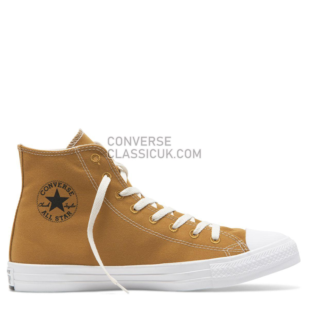 Converse Chuck Taylor All Star Renew Canvas High Top Wheat Mens Womens Unisex 164918 Wheat/Black/White Shoes