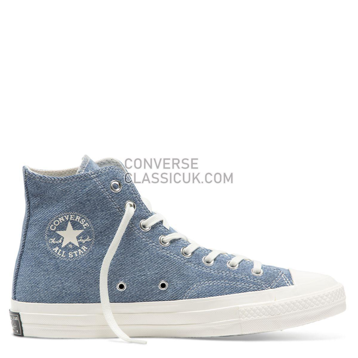 Converse Chuck Taylor All Star 70 Renew High Top Light Denim Mens Womens Unisex 165648 Light Denim/Egret/Egret Shoes