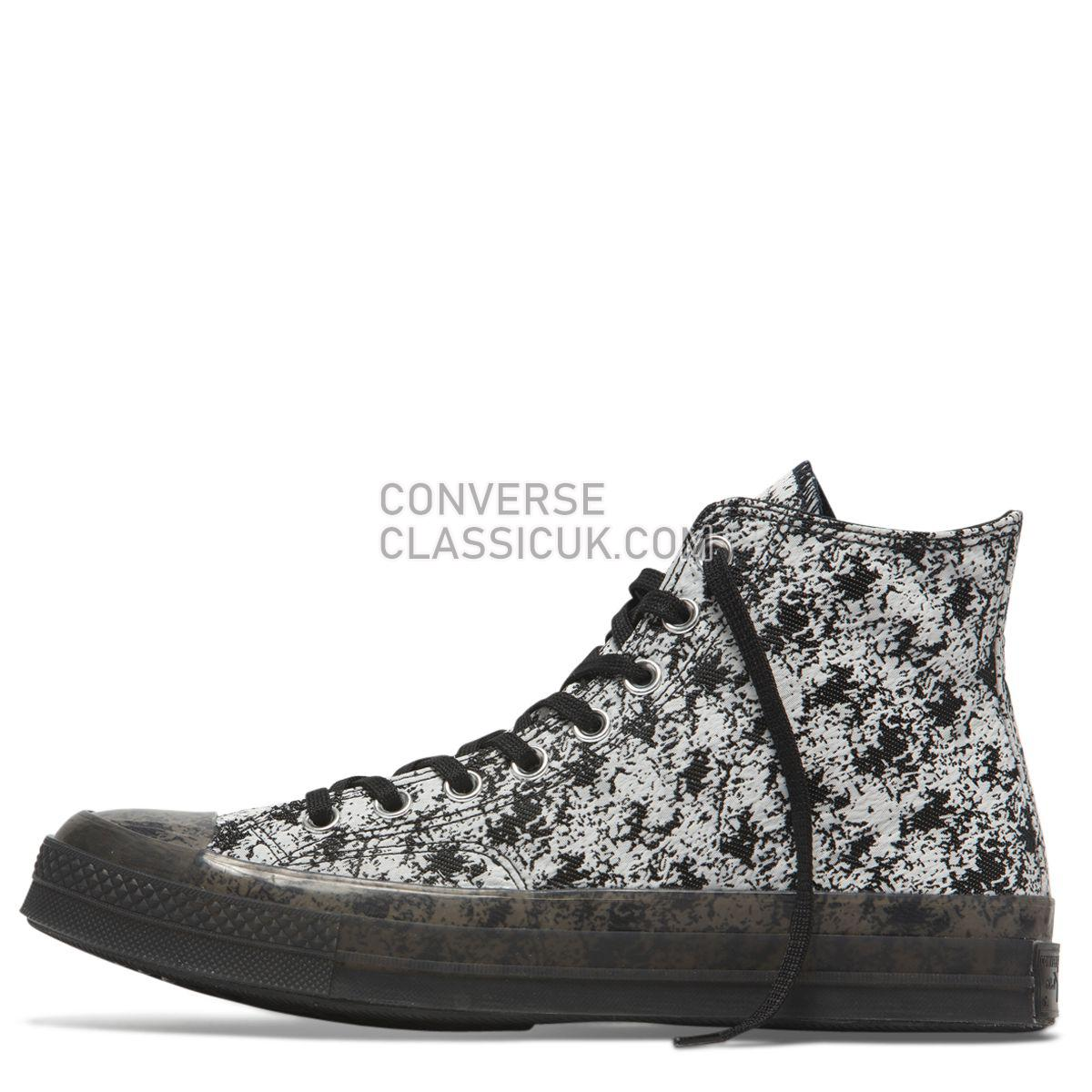 Converse Chuck Taylor All Star 70 Translucent Midsole High Top Black Mens 163325 Black/White/Clear Shoes