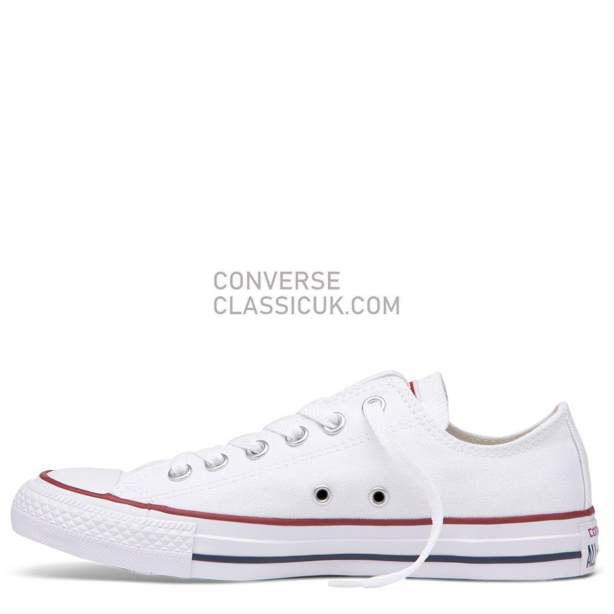 Converse Chuck Taylor All Star Classic Colour Low Top White Mens Womens Unisex 17652 White Shoes