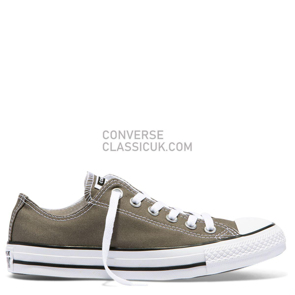 Converse Chuck Taylor All Star Classic Colour Low Top Charcoal Mens Womens Unisex 1J794 Charcoal Shoes
