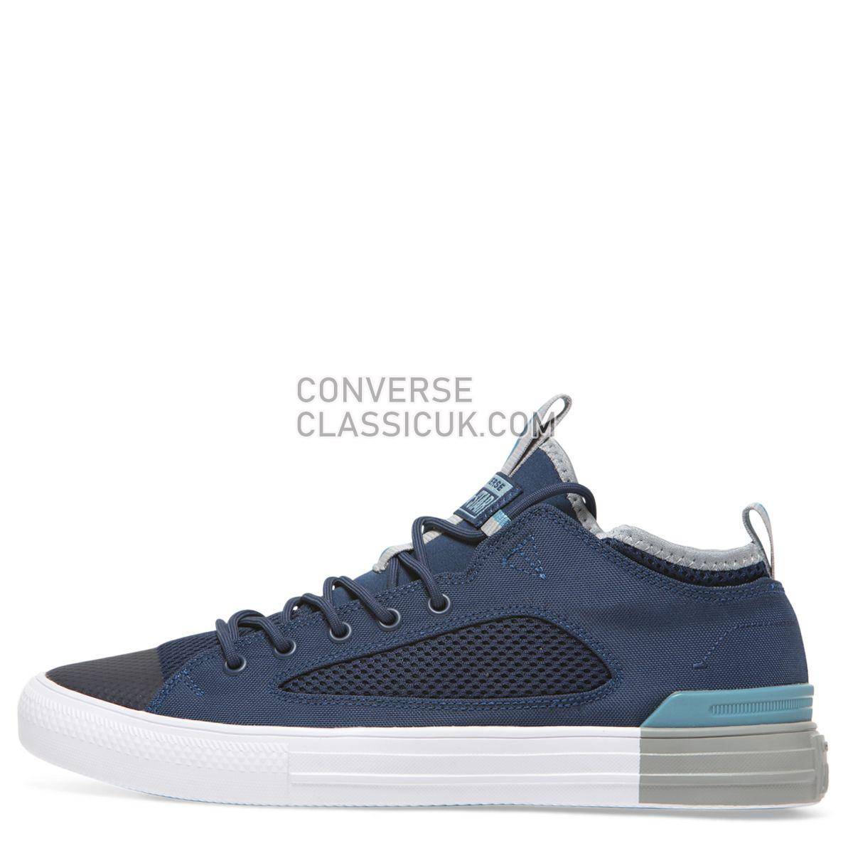 Converse Chuck Taylor All Star Ultra Colour Block Mesh Low Top Navy Mens Womens Unisex 160484 Navy/Wolf Grey/Shoreline Blue Shoes