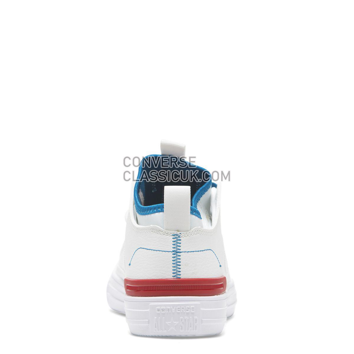 Converse Chuck Taylor All Star Ultra Shoot For The Moon Low Top White Mens Womens Unisex 165345 White/Enamel Red/Imperial Blue Shoes