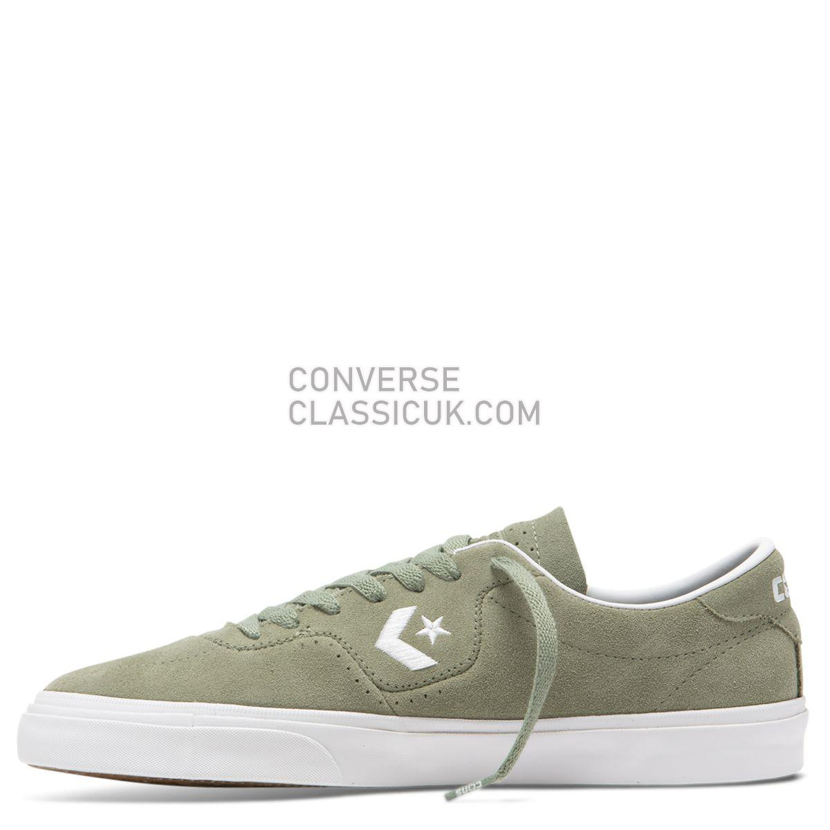 Converse CONS Louie Lopez Pro Classic Suede Low Top Jade Stone Mens 165271 Jade Stone/White/White Shoes
