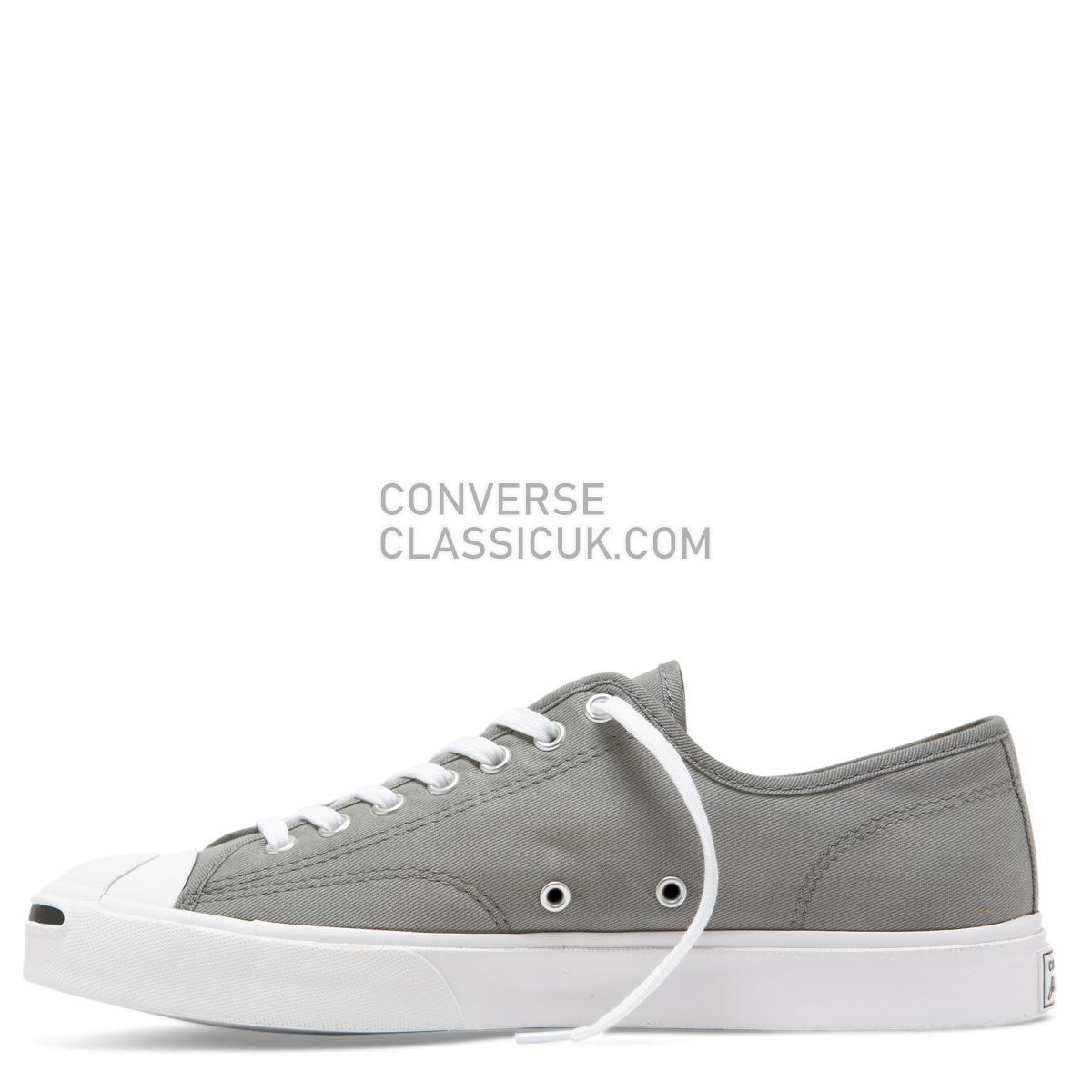 Converse Jack Purcell Twill Low Top Mason Mens 165008 Mason/White/Black Shoes
