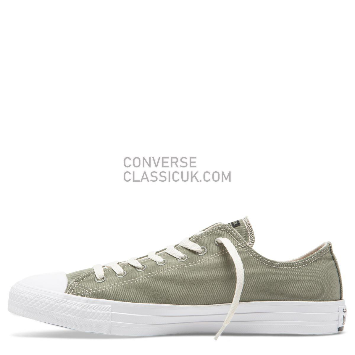 Converse Chuck Taylor All Star Renew Canvas Low Top Jade Stone Mens Womens Unisex 164922 Jade Stone/Black/White Shoes