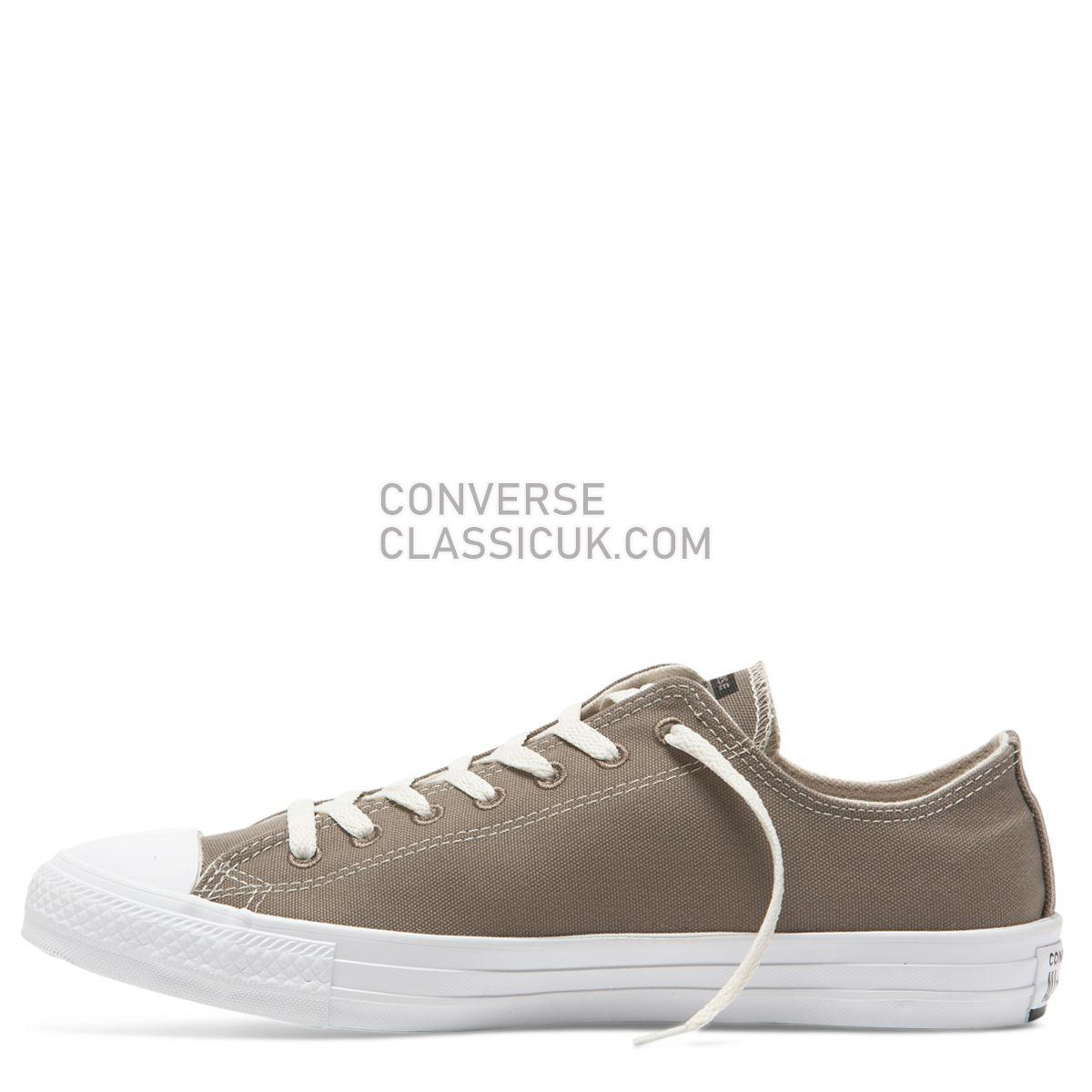 Converse Chuck Taylor All Star Renew Canvas Low Top Mason Taupe Mens Womens Unisex 164921 Mason Taupe/Black/White Shoes