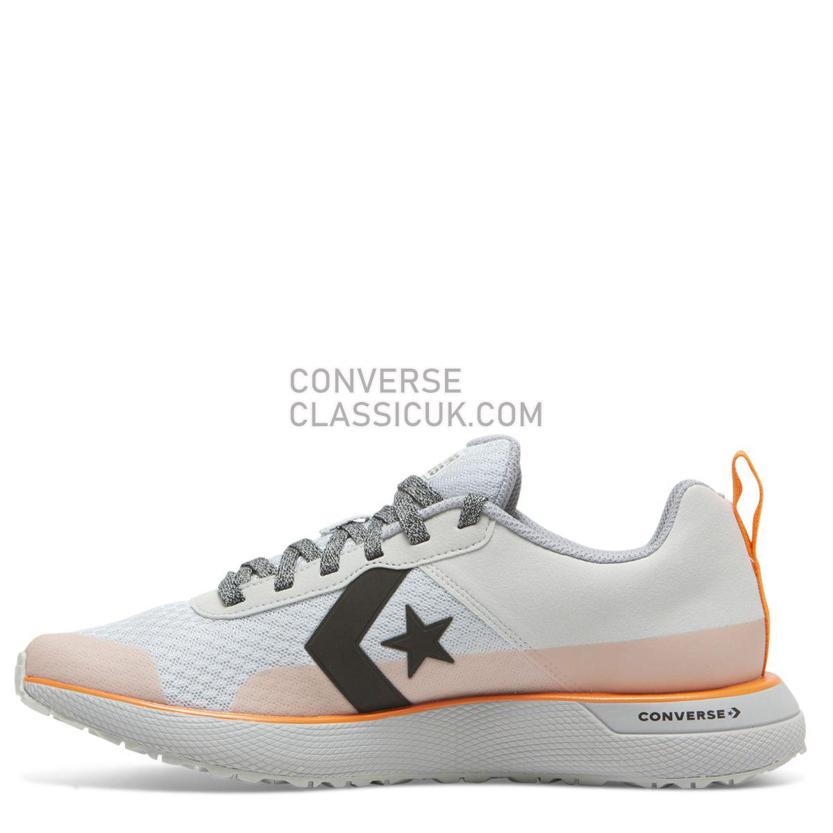 Converse X Tinker Hatfield Star Series RN Low Top Pure Platinum Mens 165593 Pure Platinum/Bold Mandarin Shoes