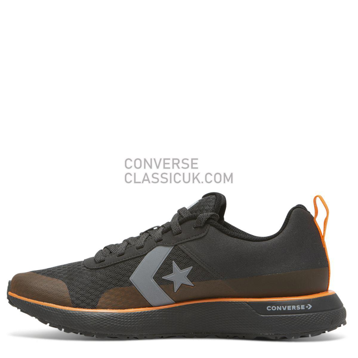 Converse X Tinker Hatfield Star Series RN Low Top Black Mens 165594 Almost Black/Bold Mandarin Shoes